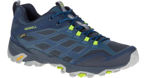Merrell Moab FST GTX - Chaussures - bleu